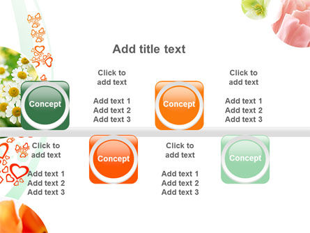 Flower Gift PowerPoint Template Slide 19