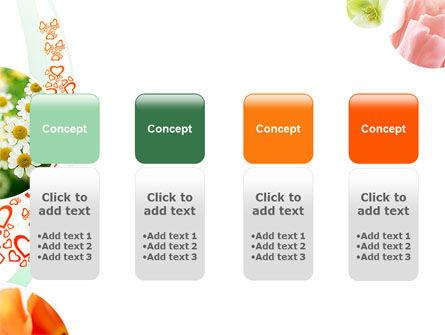 Flower Gift PowerPoint Template Slide 5