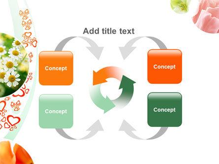 Flower Gift PowerPoint Template Slide 6