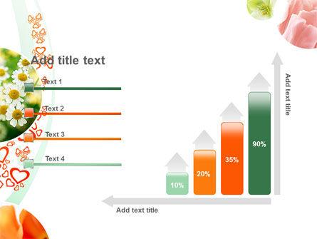 Flower Gift PowerPoint Template Slide 8