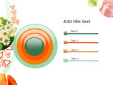 Flower Gift PowerPoint Template#9