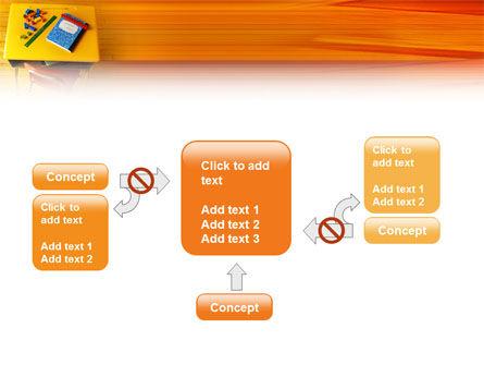 School Desk PowerPoint Template Slide 13