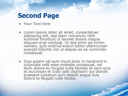 Motorboat PowerPoint Template, Slide 2, 02396, Holiday/Special Occasion — PoweredTemplate.com