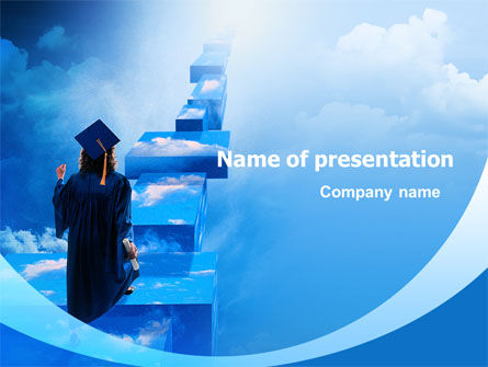 Education & Training: Graduate PowerPoint Template #02397