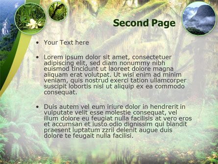 Rainforest PowerPoint Template Slide 2