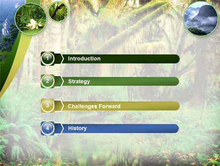 Rainforest PowerPoint Template Slide 3