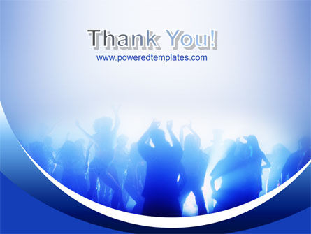 Night Club Dancing PowerPoint Template Slide 20