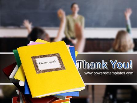 School Teaching PowerPoint Template Slide 20