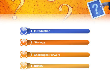Question Mark In Quiz PowerPoint Template Slide 3