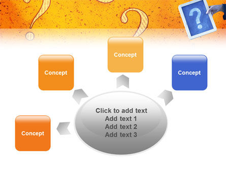 Question Mark In Quiz PowerPoint Template Slide 7