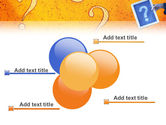Question Mark In Quiz PowerPoint Template#10