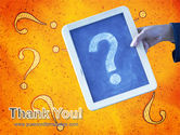 Question Mark In Quiz PowerPoint Template#20
