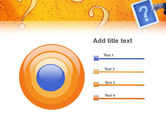 Question Mark In Quiz PowerPoint Template#9
