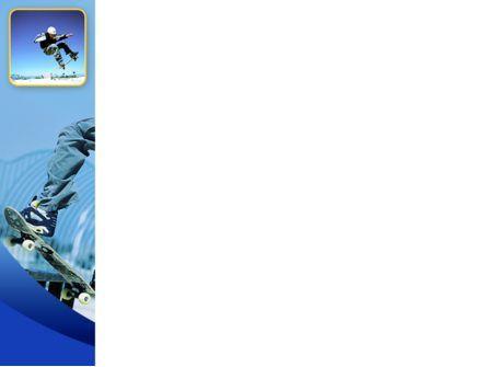 Skateboarding PowerPoint Template, Slide 3, 02405, Sports — PoweredTemplate.com