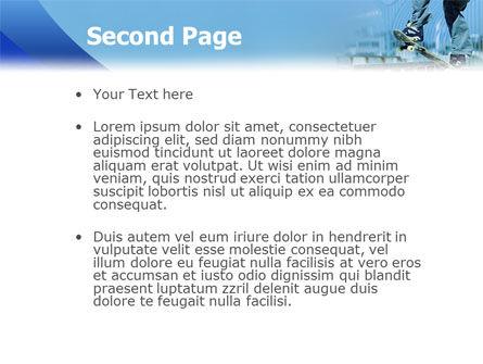 Skateboarding PowerPoint Template Slide 2