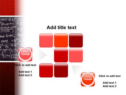 Algebraic Formulas PowerPoint Template Slide 16