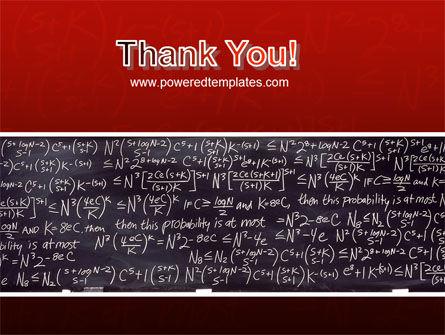 Algebraic Formulas PowerPoint Template Slide 20