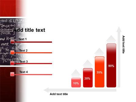 Algebraic Formulas PowerPoint Template Slide 8