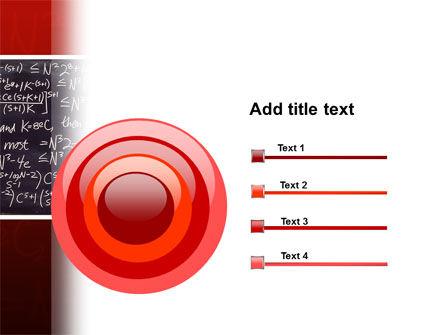 Algebraic Formulas PowerPoint Template Slide 9