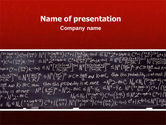 Education & Training: Algebraic Formulas PowerPoint Template #02406