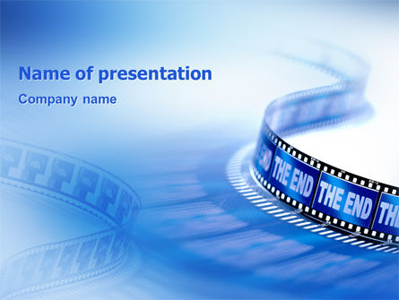Film PowerPoint Template, 02408, Art & Entertainment — PoweredTemplate.com