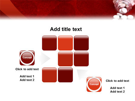 Pills From The Bottle PowerPoint Template Slide 16