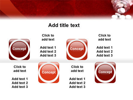 Pills From The Bottle PowerPoint Template Slide 19