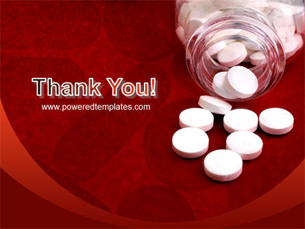 Pills From The Bottle PowerPoint Template Slide 20