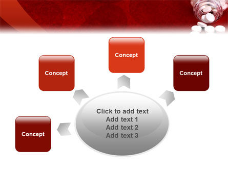 Pills From The Bottle PowerPoint Template Slide 7