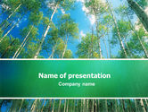 Nature & Environment: Forest PowerPoint Template #02415