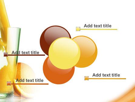 Orange Juice PowerPoint Template Slide 10