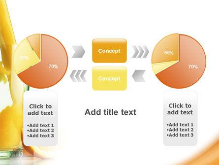 Orange Juice PowerPoint Template Slide 11
