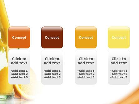 Orange Juice PowerPoint Template Slide 5
