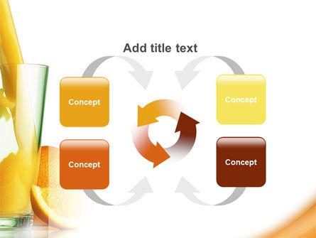 Orange Juice PowerPoint Template Slide 6