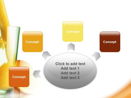 Orange Juice PowerPoint Template Slide 7