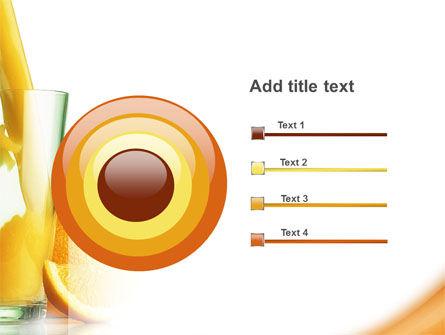 Orange Juice PowerPoint Template Slide 9