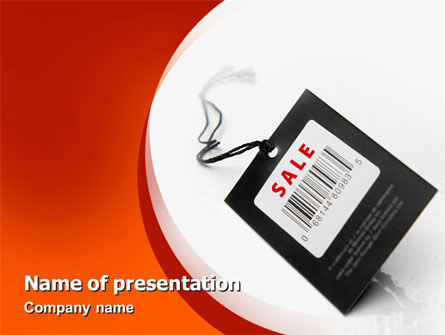 Sale PowerPoint Template, 02419, Business — PoweredTemplate.com