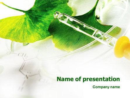 Biochemistry PowerPoint Template, 02420, Technology and Science — PoweredTemplate.com