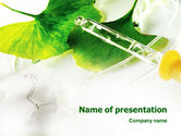 Technology and Science: Biochemistry PowerPoint Template #02420