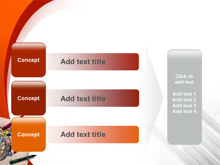 Colored Crayons PowerPoint Template Slide 12