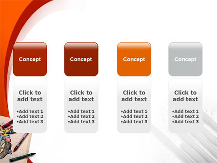 Colored Crayons PowerPoint Template Slide 5