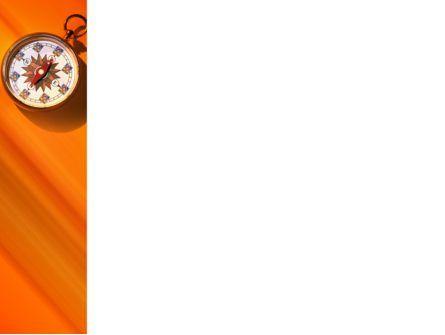 Pocket Compass PowerPoint Template, Slide 3, 02424, Global — PoweredTemplate.com