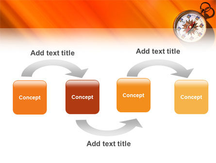 Pocket Compass PowerPoint Template, Slide 4, 02424, Global — PoweredTemplate.com