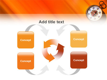Pocket Compass PowerPoint Template Slide 6