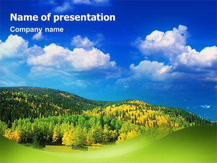 Nature & Environment: Templat PowerPoint Pemandangan #02425