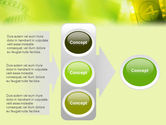 Film Strip In Light Yellow Green Colors PowerPoint Template#11