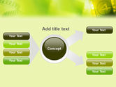 Film Strip In Light Yellow Green Colors PowerPoint Template#14