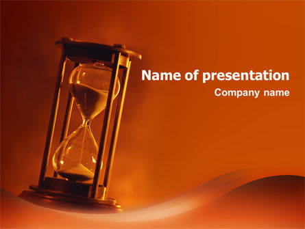 Floating Time PowerPoint Template