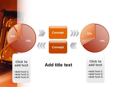Floating Time PowerPoint Template Slide 11
