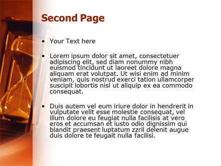 Floating Time PowerPoint Template Slide 2